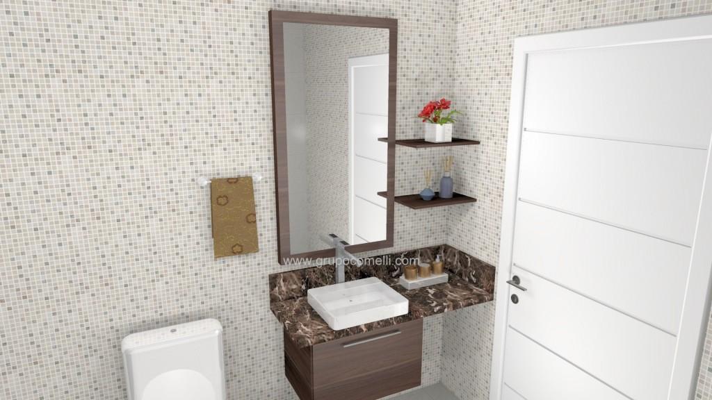 Banheiro planejado 254