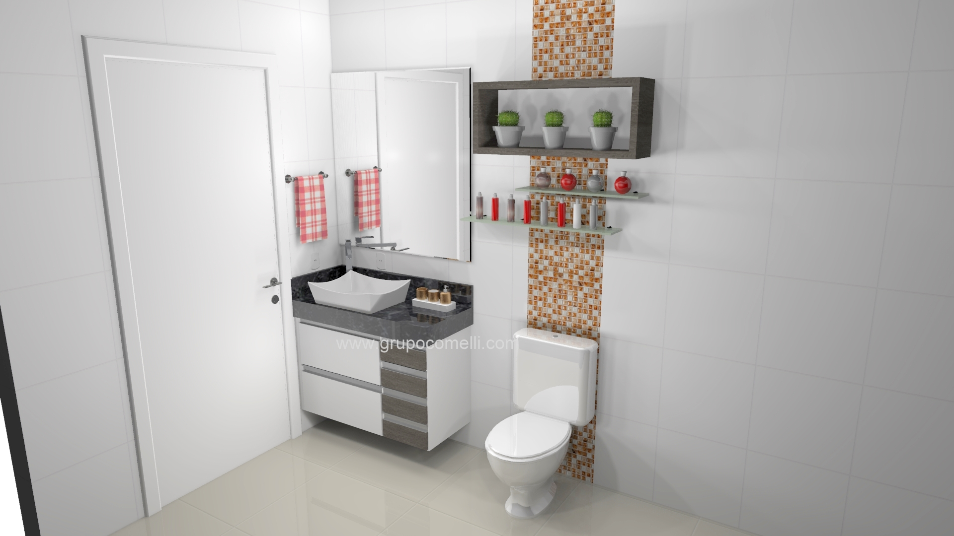 Banheiro planejado 255