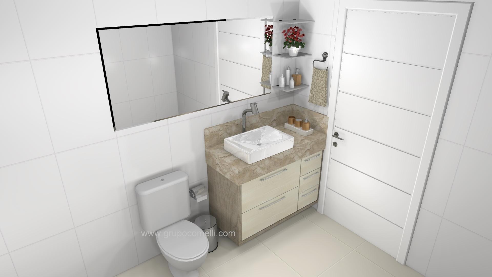 Banheiro planejado 257