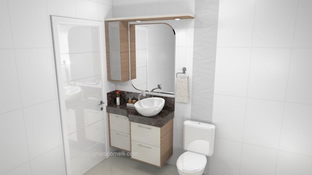 Banheiro planejado 258