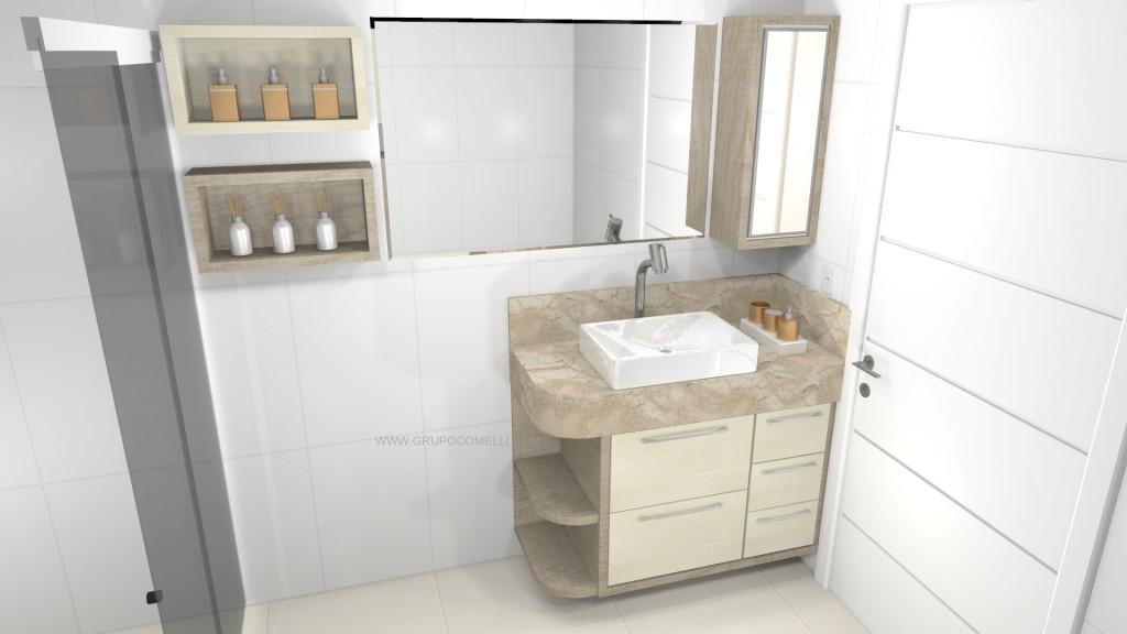 Banheiro planejado 259