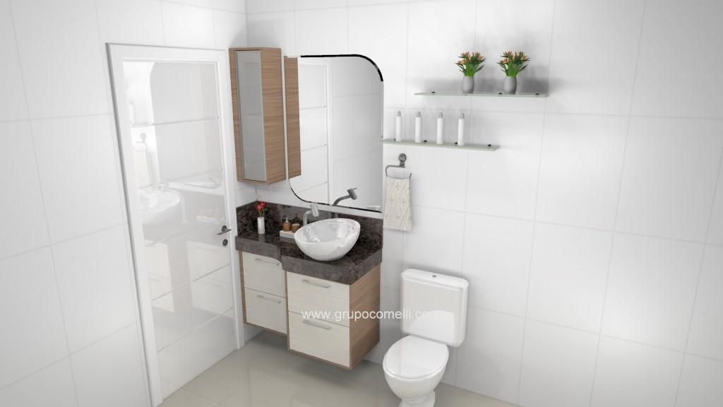 Banheiro planejado 260