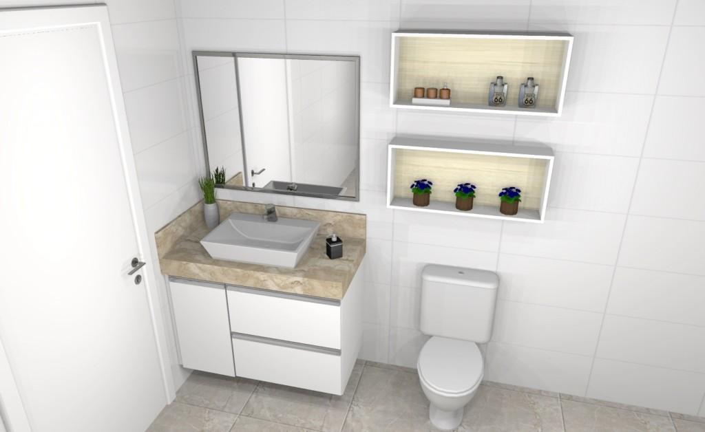 Banheiro planejado 261