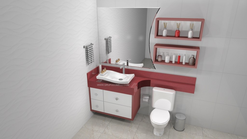 Banheiro planejado 262