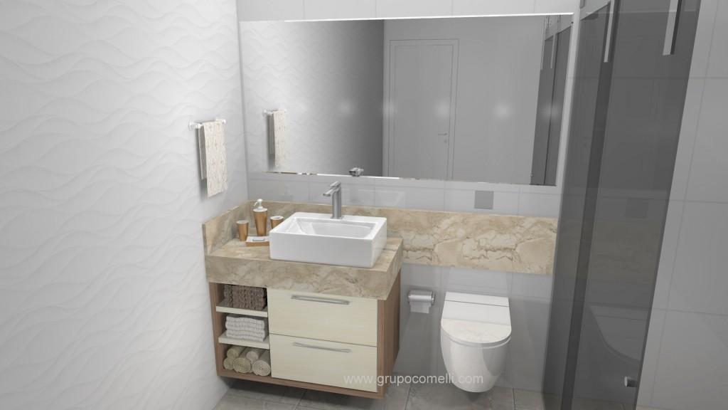 Banheiro planejado 263