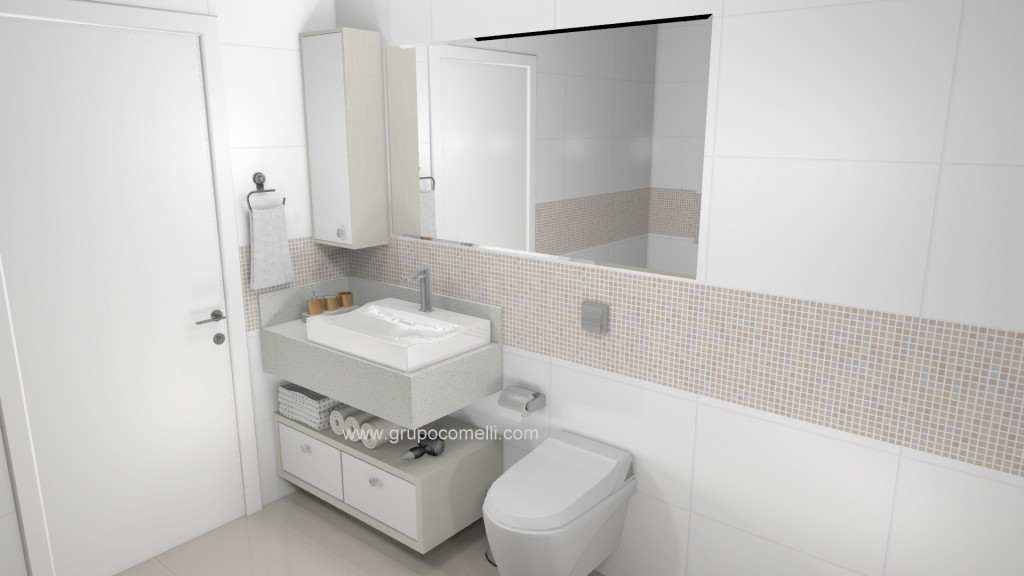 Banheiro planejado 264