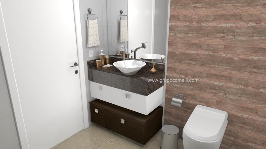 Banheiro planejado 265