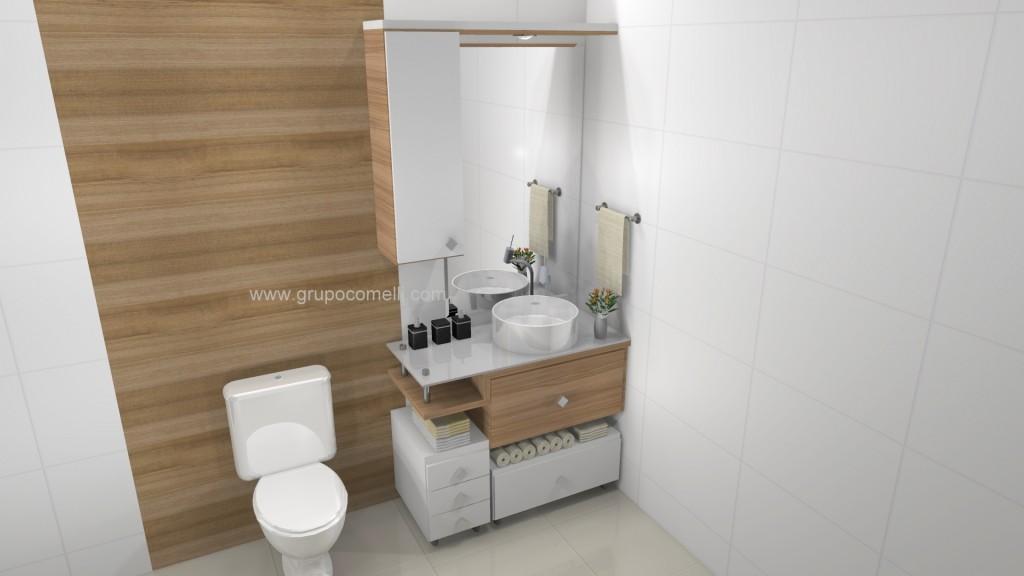 Banheiro planejado 266
