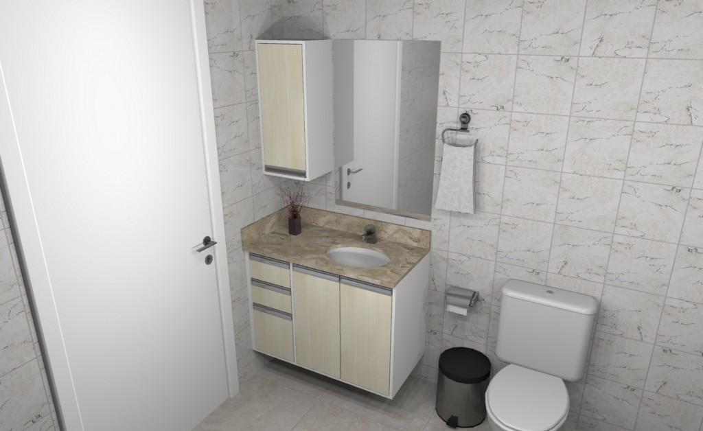 Banheiro planejado 267