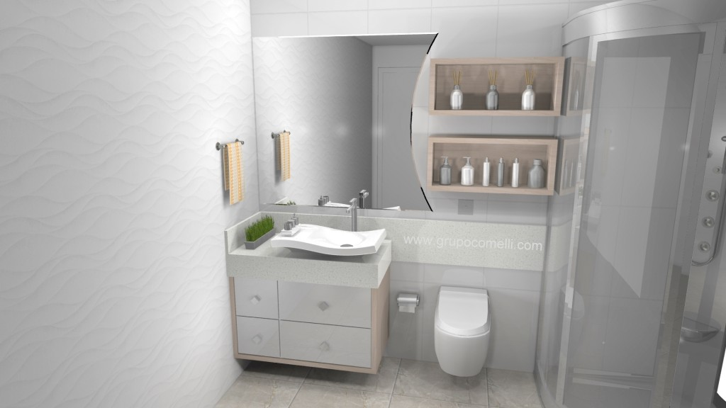 Banheiro planejado 268