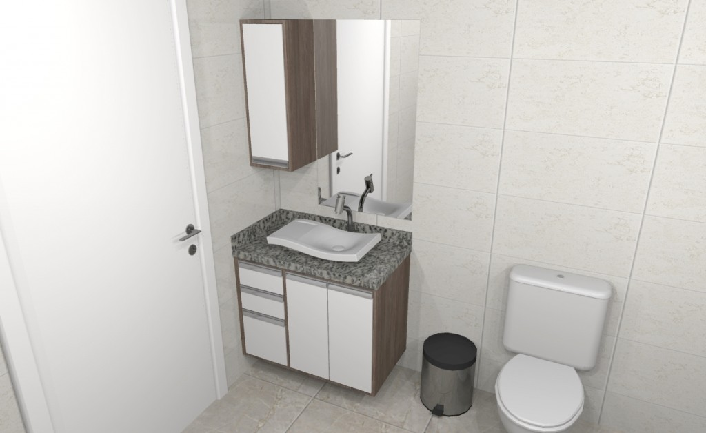 Banheiro planejado 269