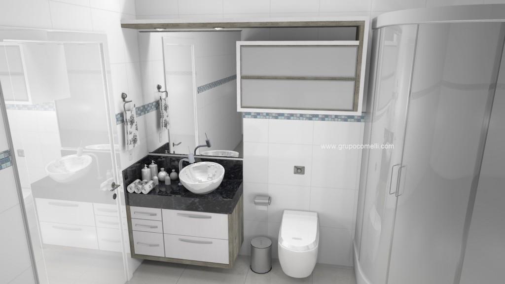 Banheiro planejado 270