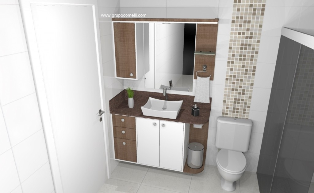 Banheiro planejado 272