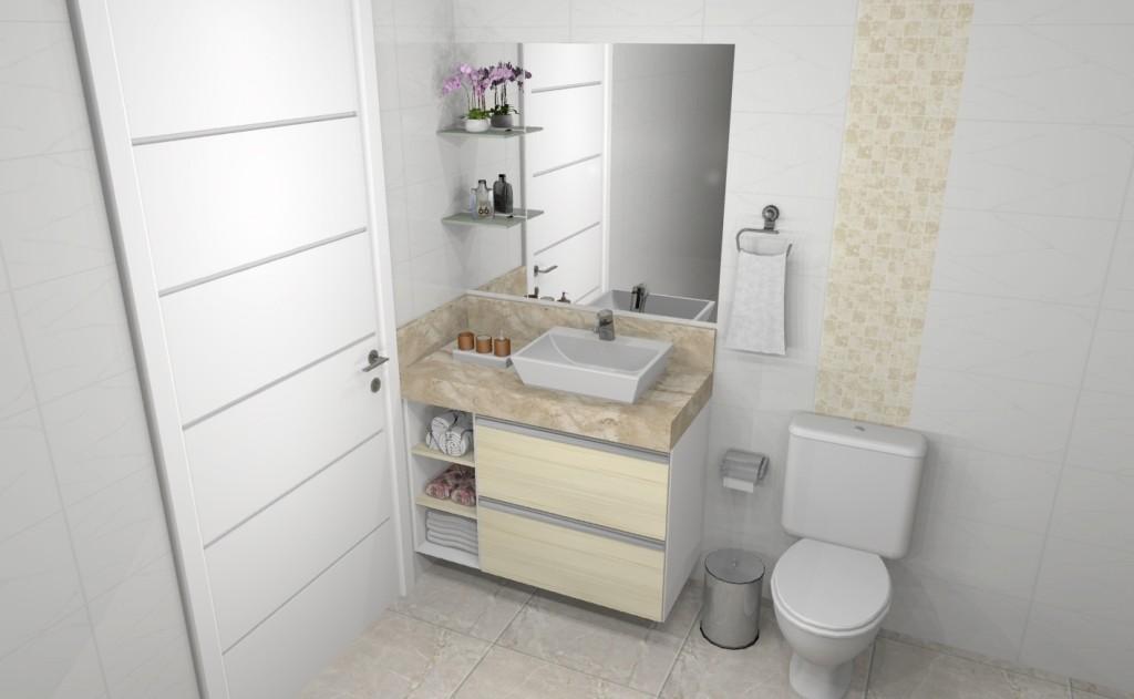 Banheiro planejado 273
