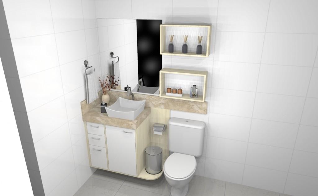 Banheiro planejado 274