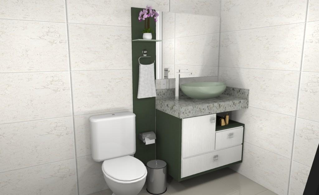 Banheiro planejado 275