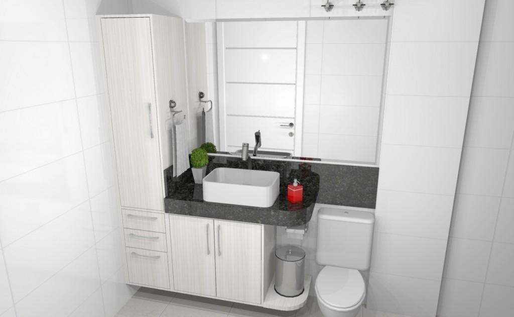 Banheiro planejado 276