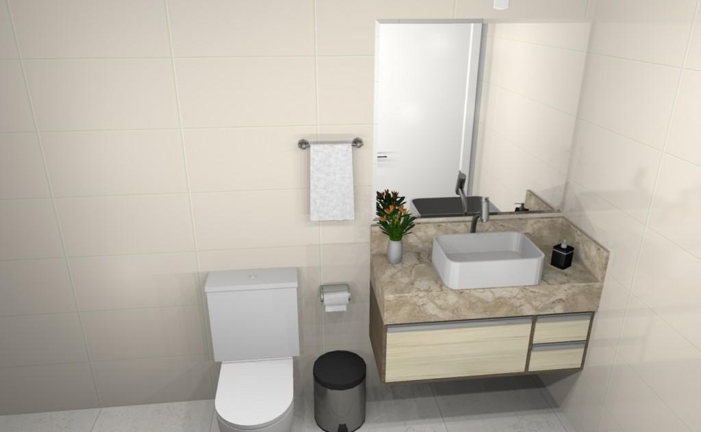 Banheiro planejado 277