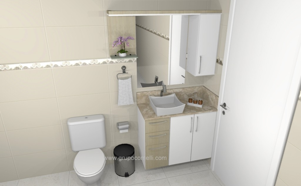 Banheiro planejado 278