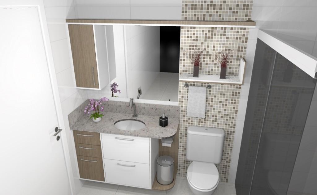 Banheiro planejado 280