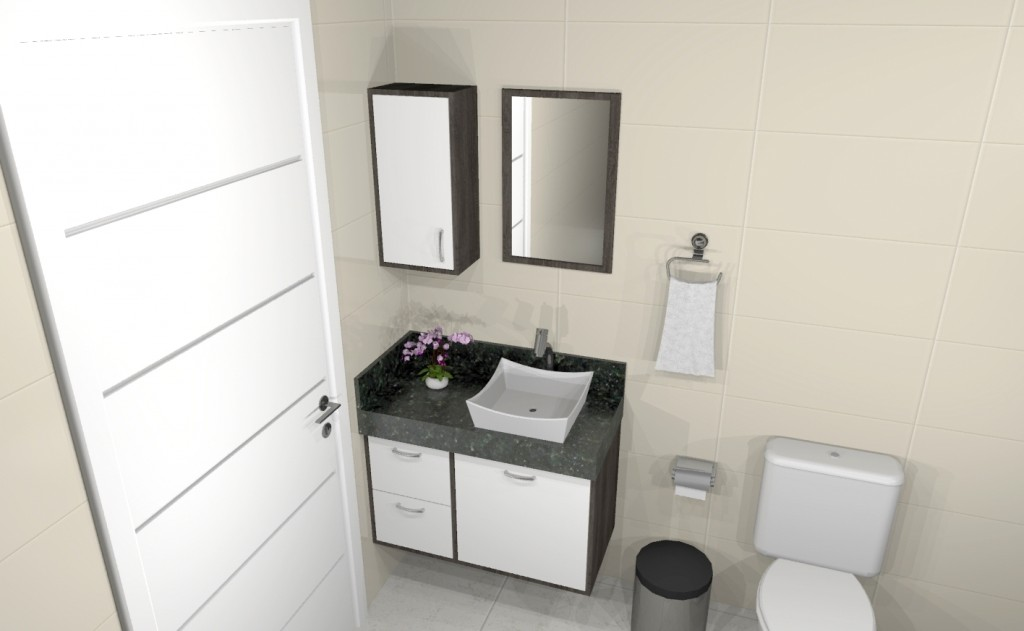 Banheiro planejado 281