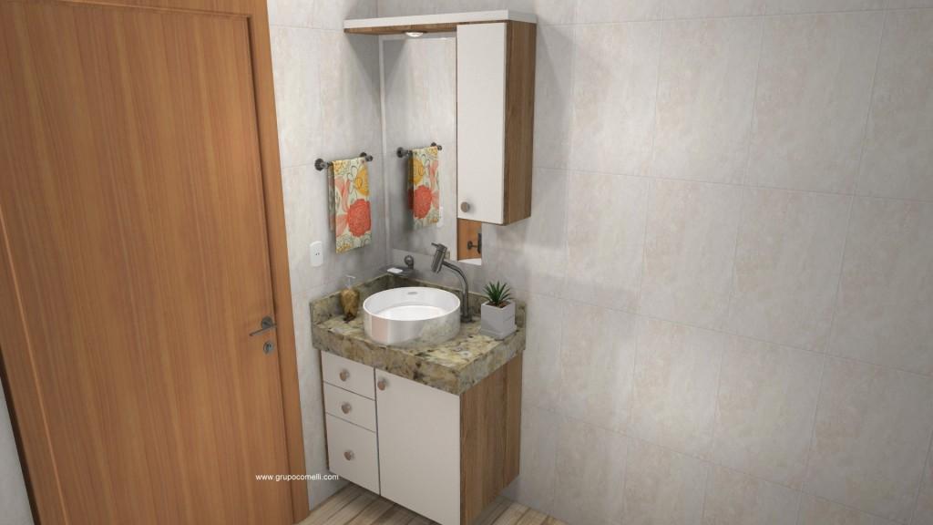 Banheiro planejado 282