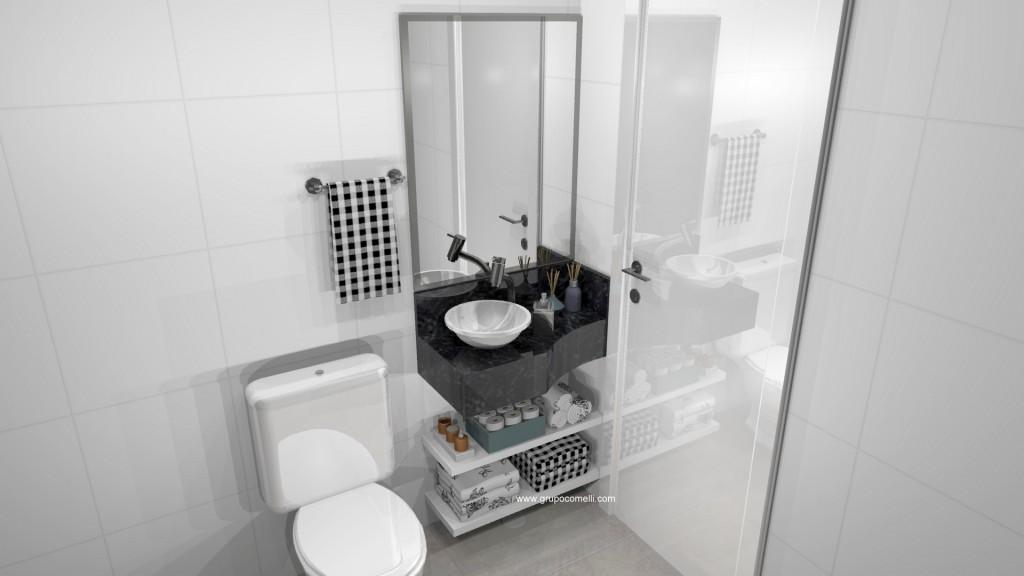 Banheiro planejado 284