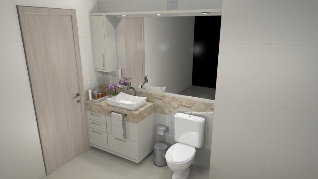Banheiro planejado 285