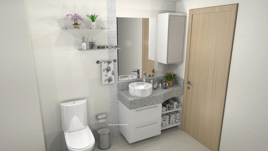 Banheiro planejado 286