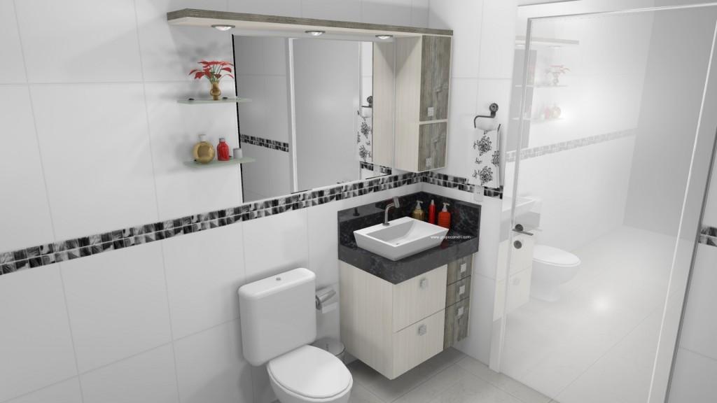Banheiro planejado 287