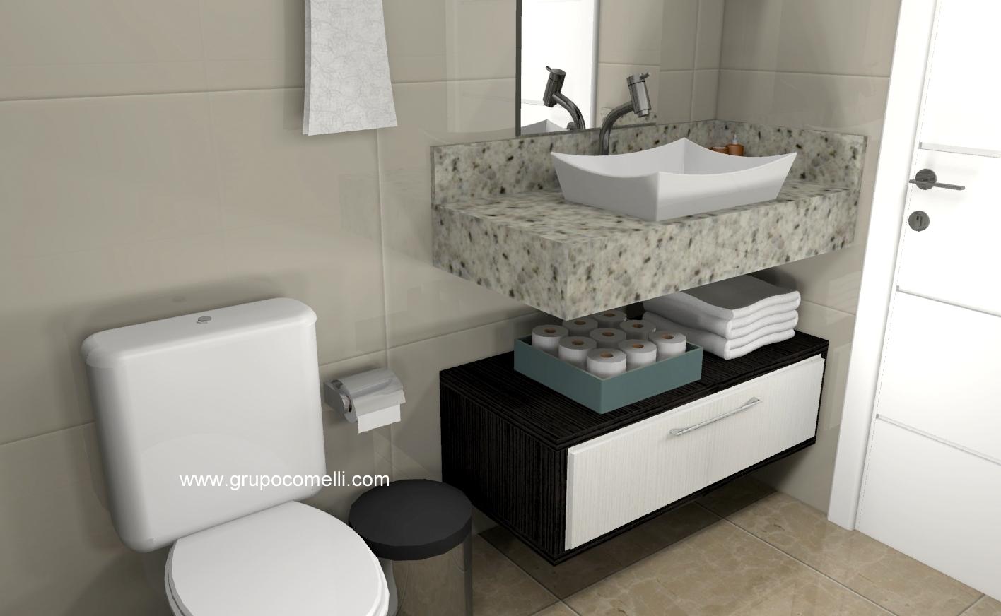 Banheiro planejado 288