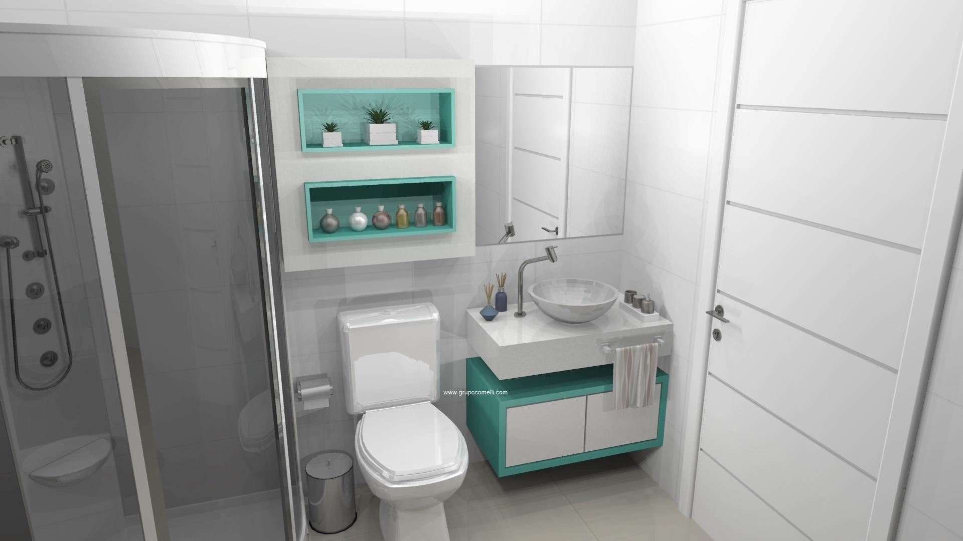 Para Esse Banheiro Planejado Para Apartamento Pequeno Se Ele Ainda  #417169 1920 1080