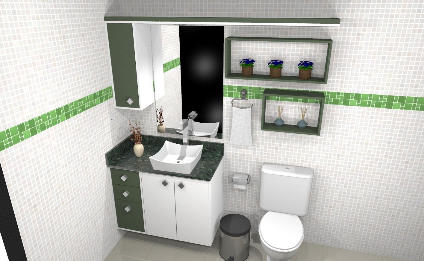 Banheiro planejado 290