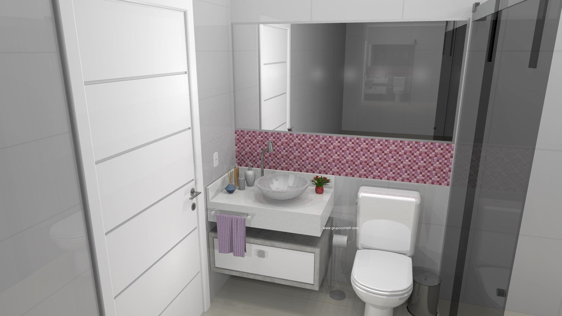 Banheiro planejado 291