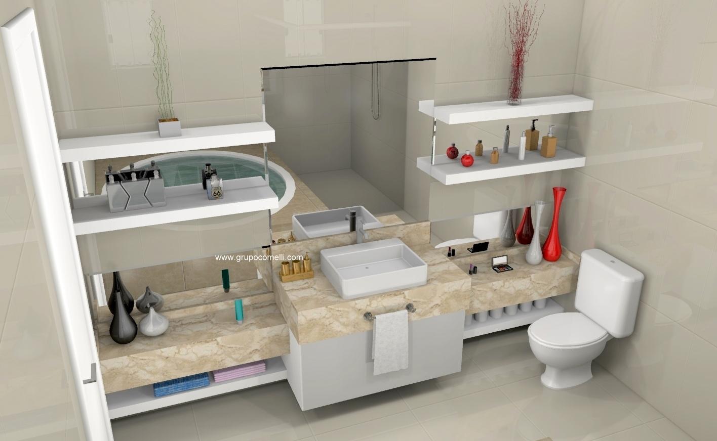 Banheiro planejado 293