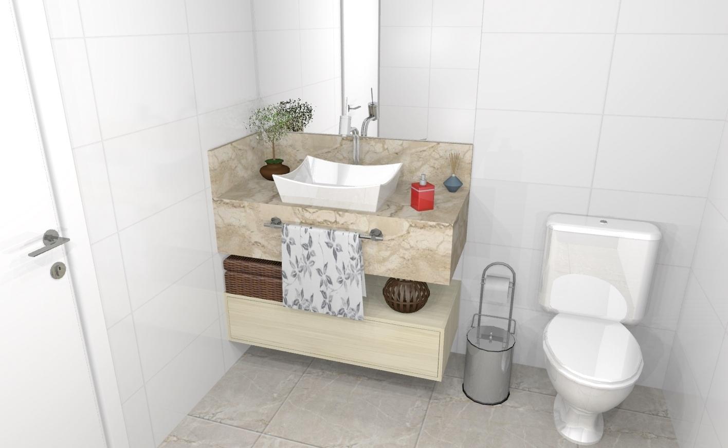 Banheiro planejado 294