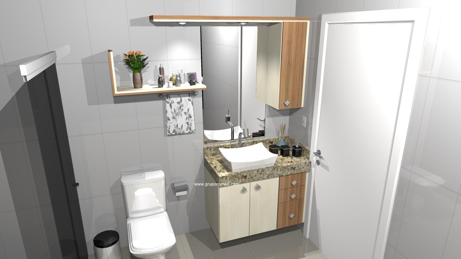 Banheiro planejado 296
