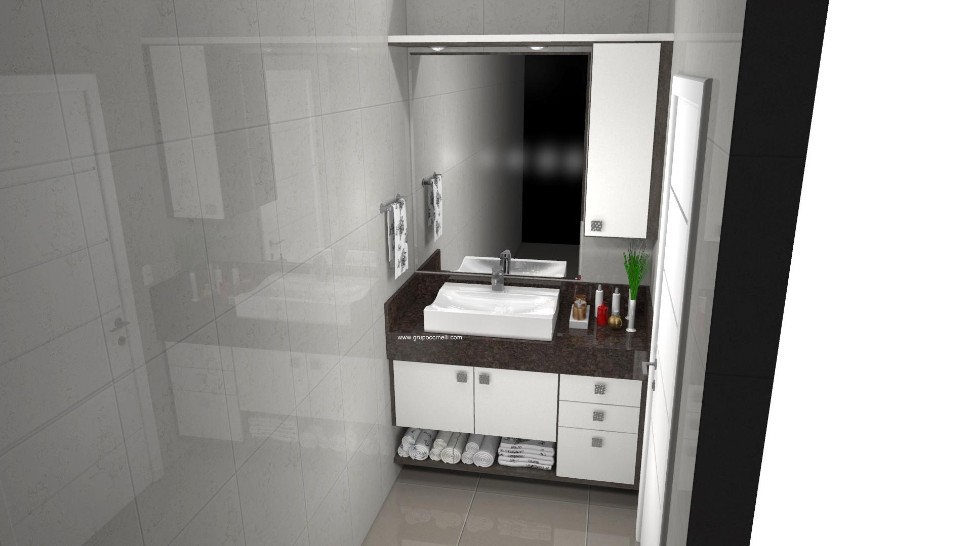 Banheiro planejado 298