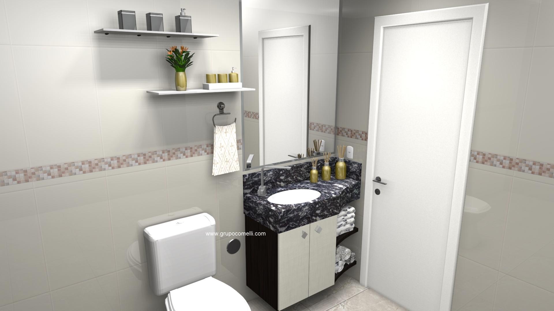 Banheiro planejado 299
