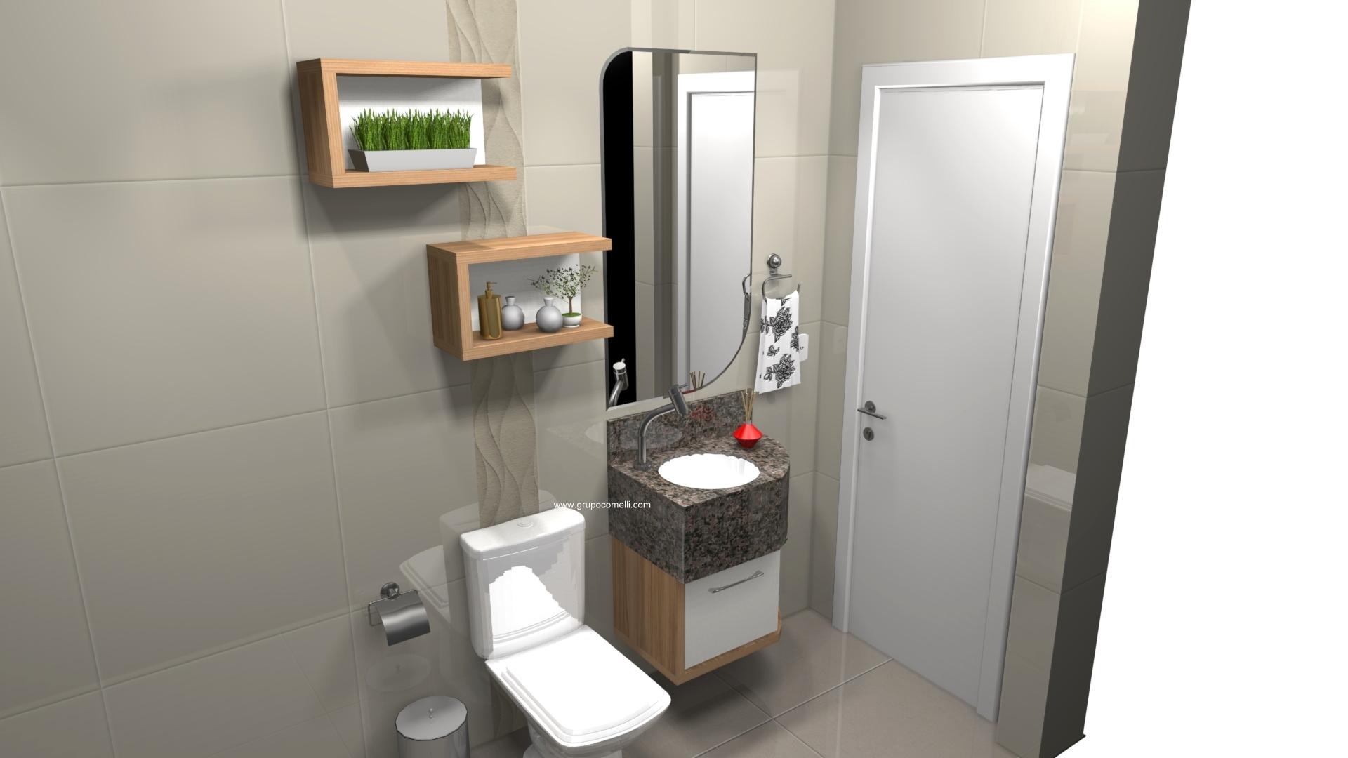 Banheiro planejado 300