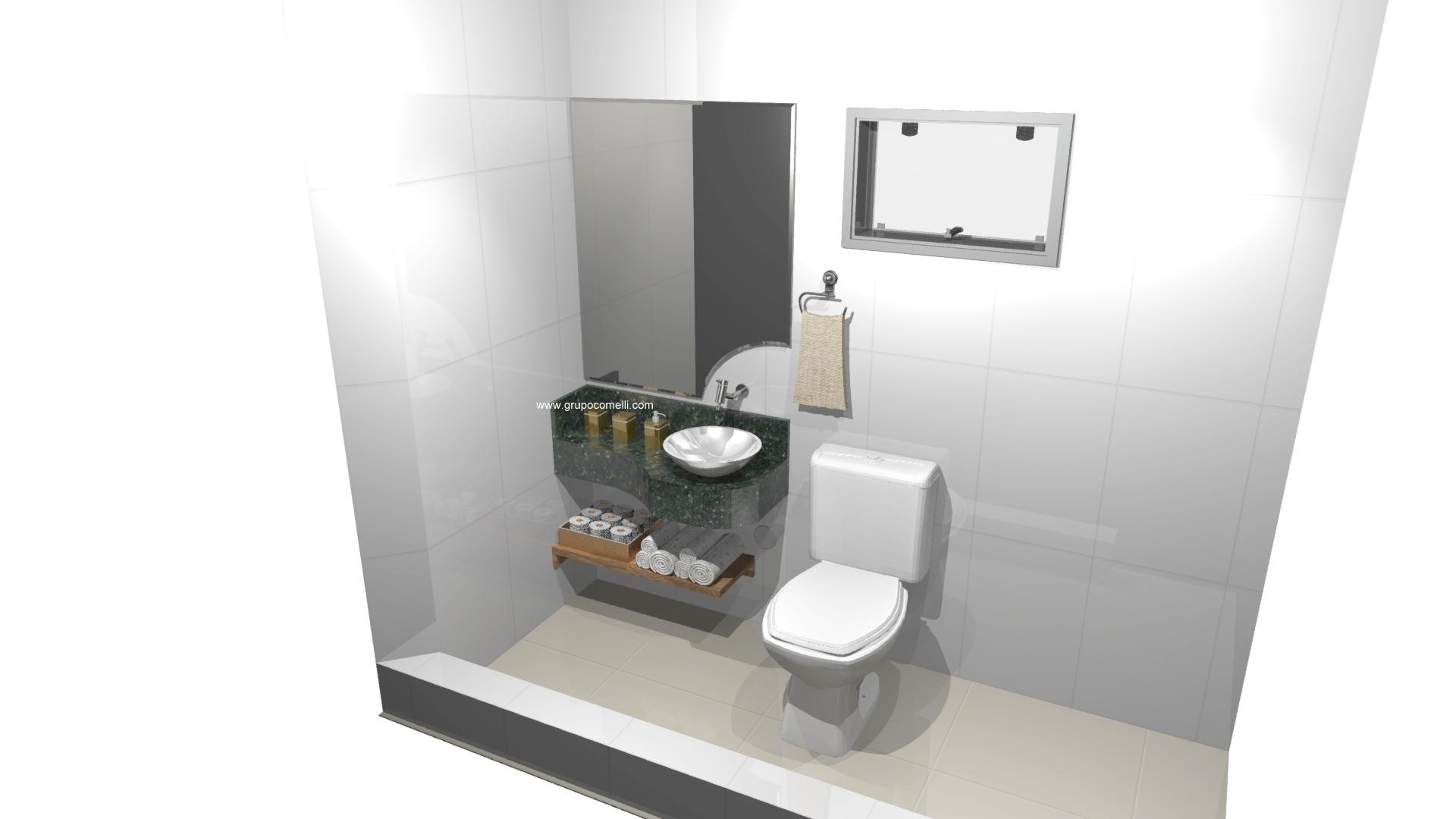 Banheiro planejado 301