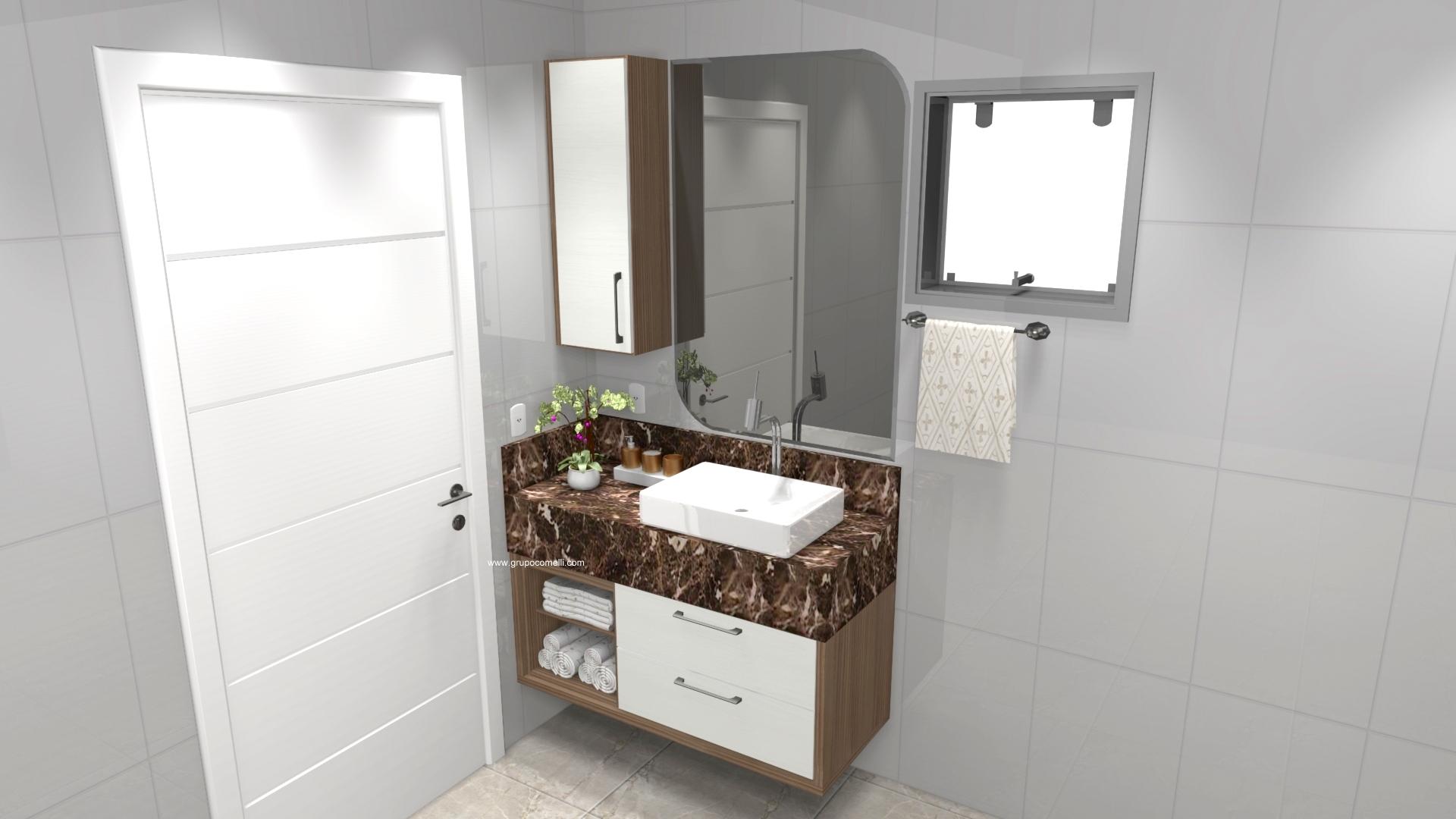 Banheiro planejado 302