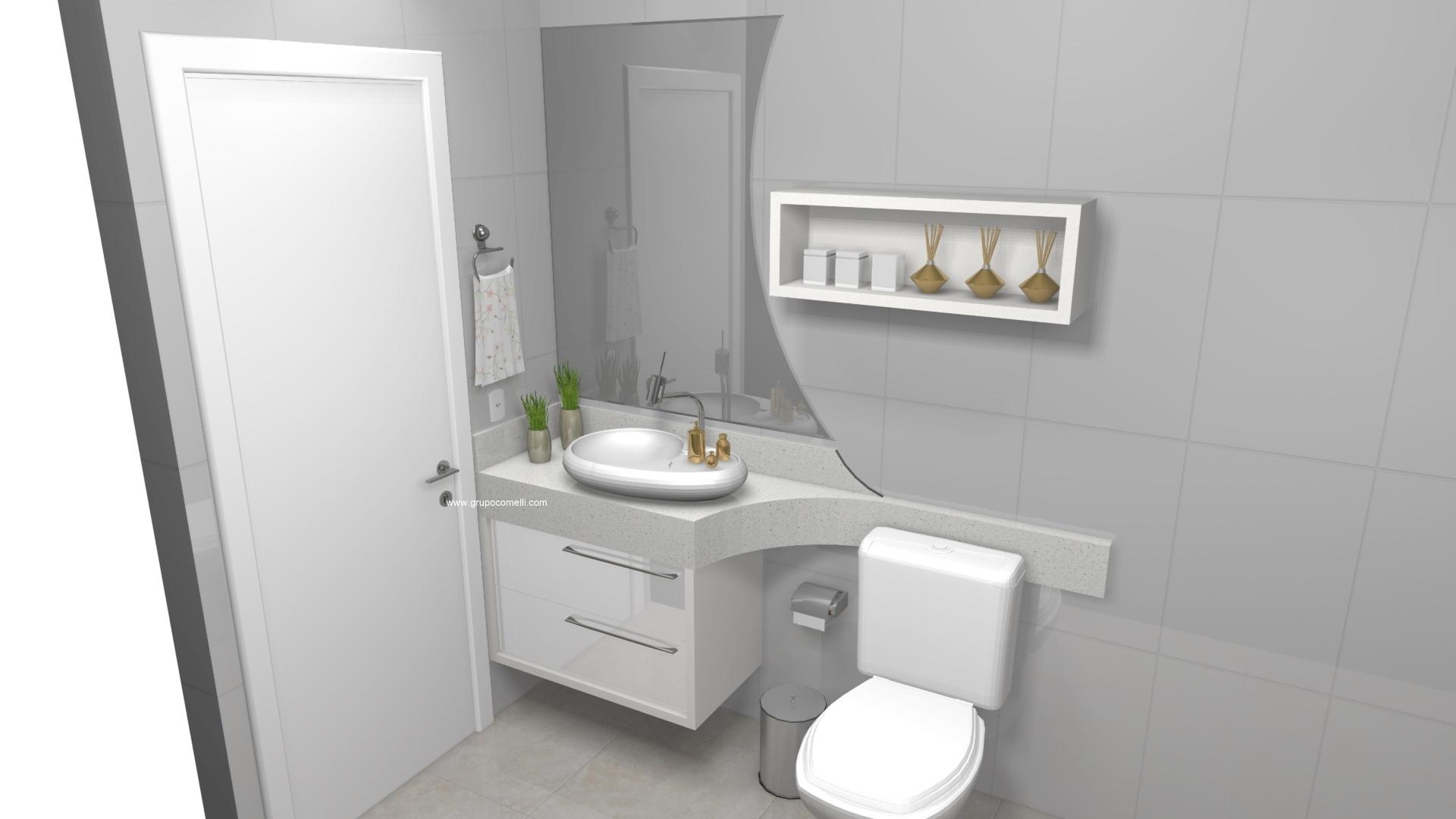 Banheiro planejado 303