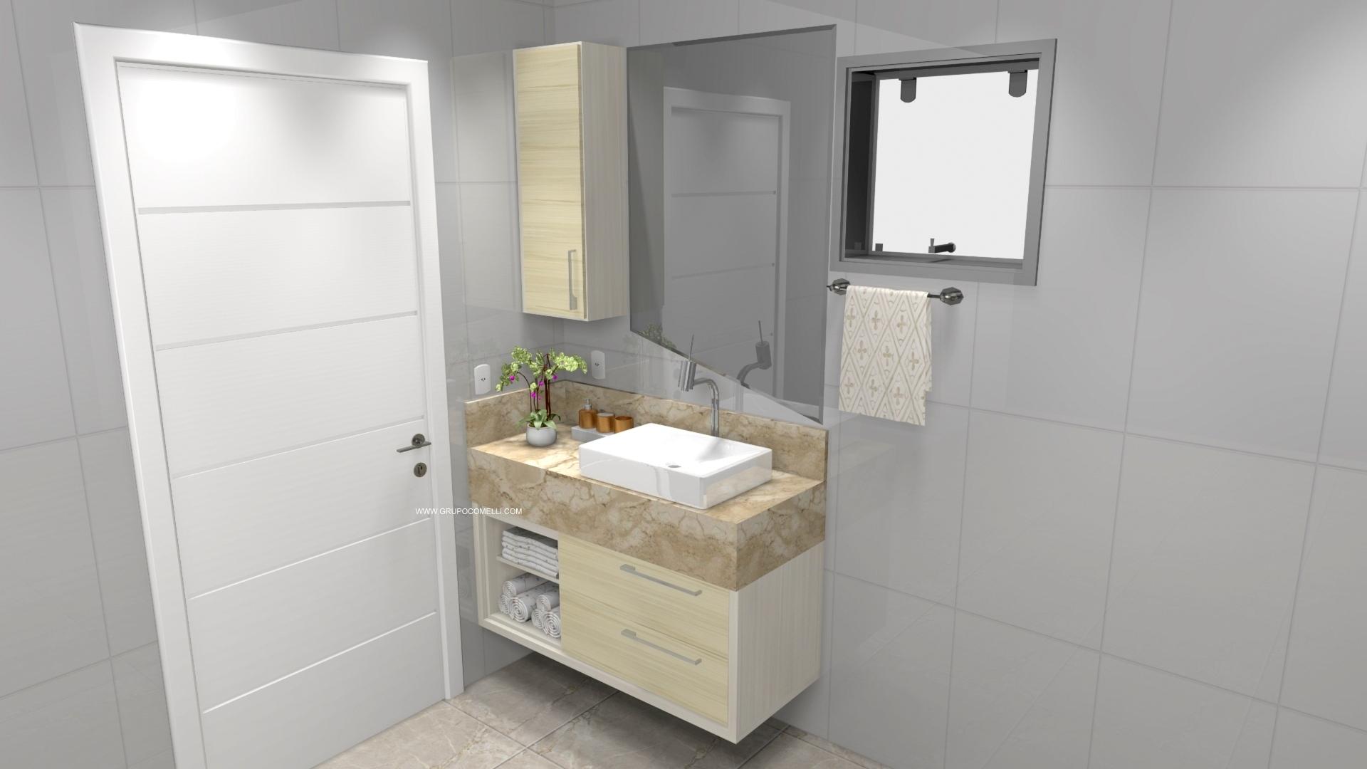 Banheiro planejado 304