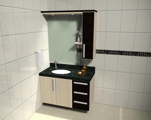 Banheiro planejado 38