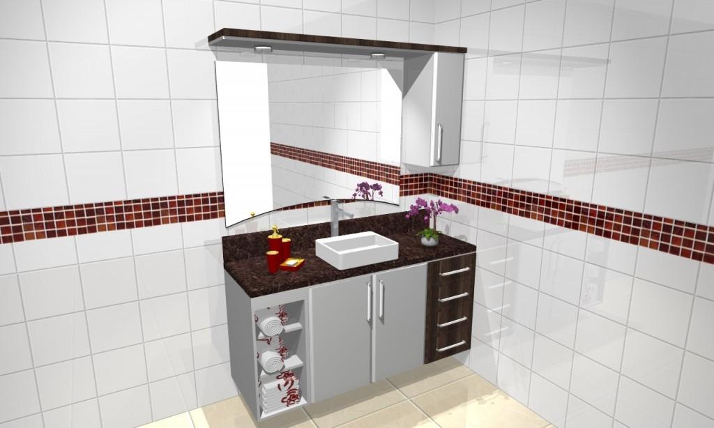 Banheiro planejado 40
