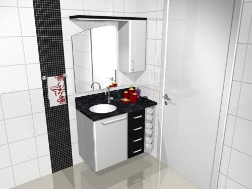 Banheiro planejado 41