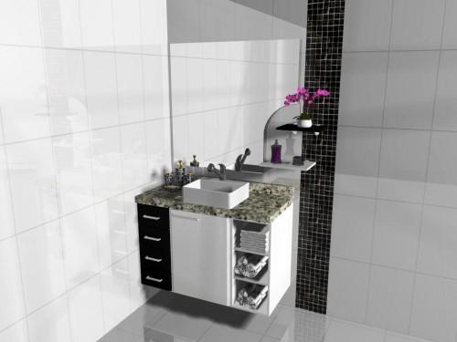 Banheiro planejado 42