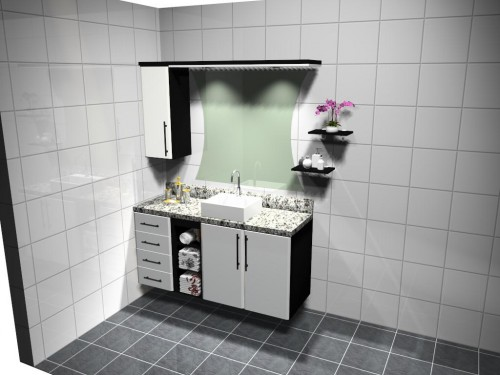 Banheiro planejado 43