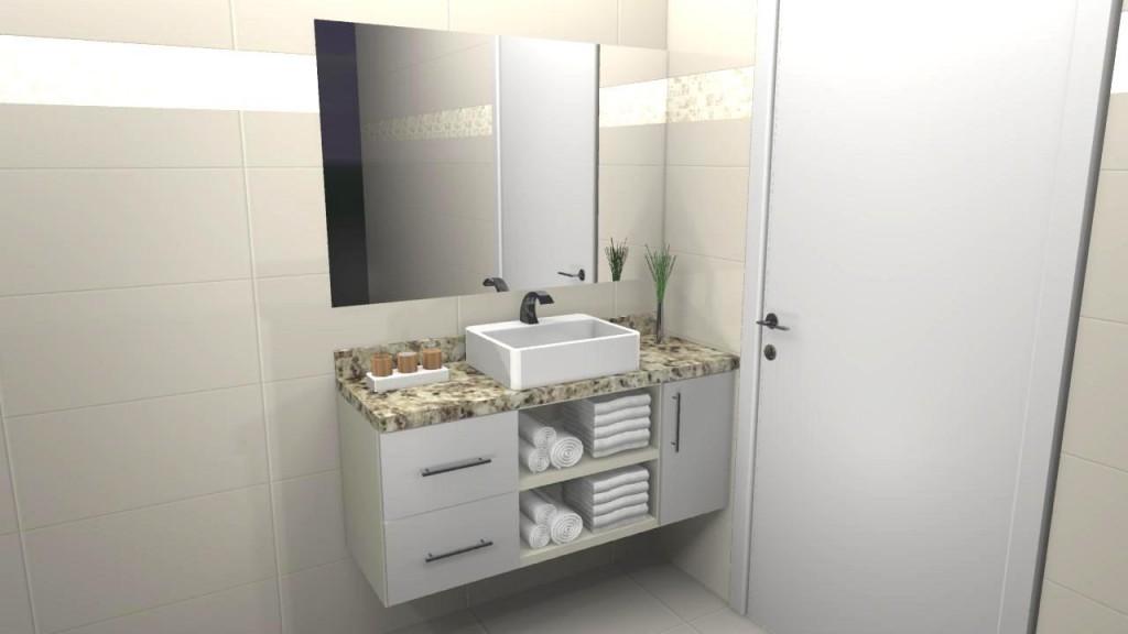 Banheiro planejado 45